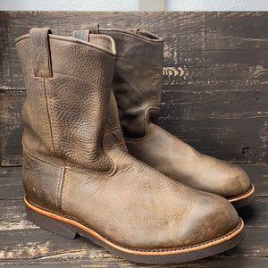 "Chippewa Men's 10"" Wellington Work Boots Size 13D"
